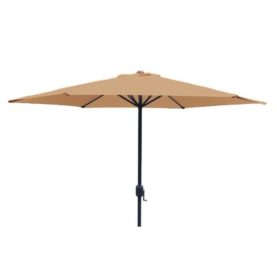 Faiths 9 Market Umbrella Color: Khaki