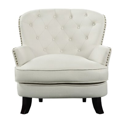 Wenatchee Club Chair Upholstery: Beige