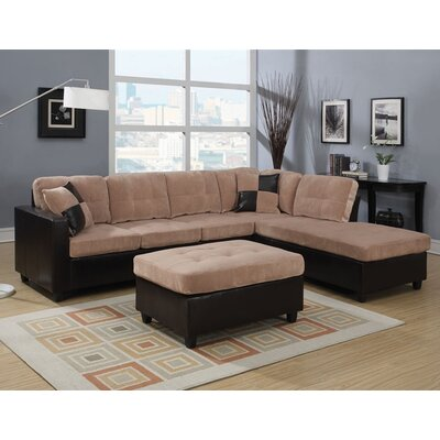 Queensberry Reversible Sectional