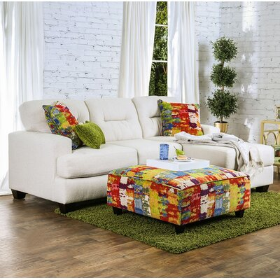 Pollock Reversible Chaise Sectional