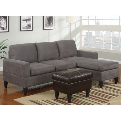 A&J Homes Studio ZD-7WF2A8J5GRY Janess Sectional