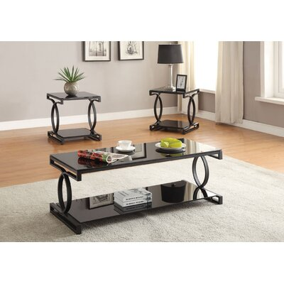 Milo 3 Piece Coffee Table Set