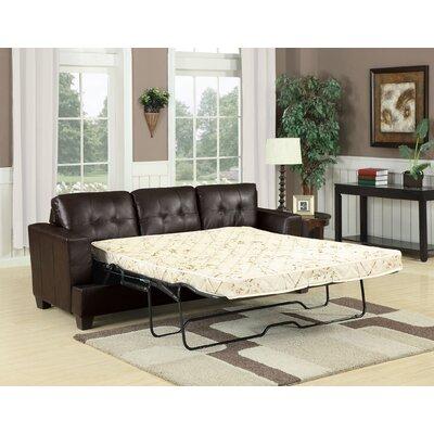 Platinum Sleeper Sofa Upholstery: Brown