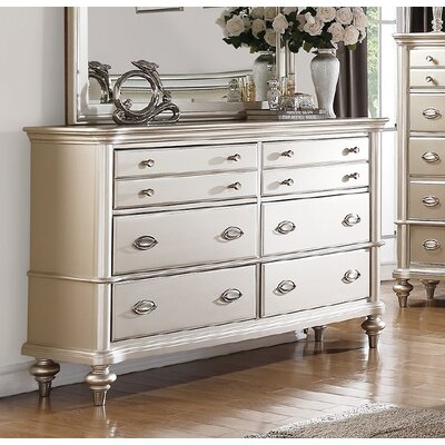 Hawes 6 Drawer Double Dresser