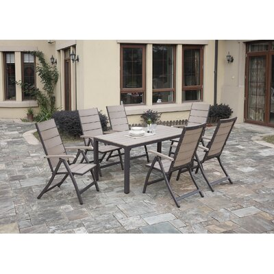 Carron 7-Piece Dining Set