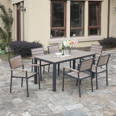 Bequette 7-Piece Dining Set