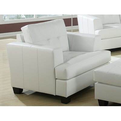 Fremont Armchair Upholstery Color: White