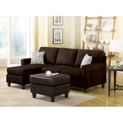 Sectional Upholstery: Chocolate