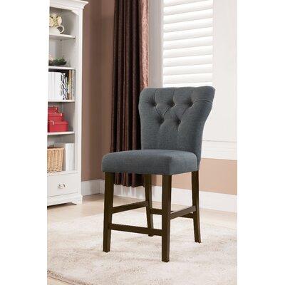 Safri Bar Stool Upholstery: Gray
