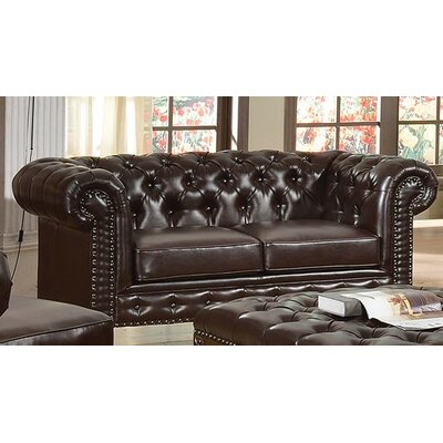 Destan Bonded Loveseat