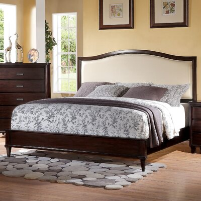 Eliot Upholstered Panel Bed Size: California King
