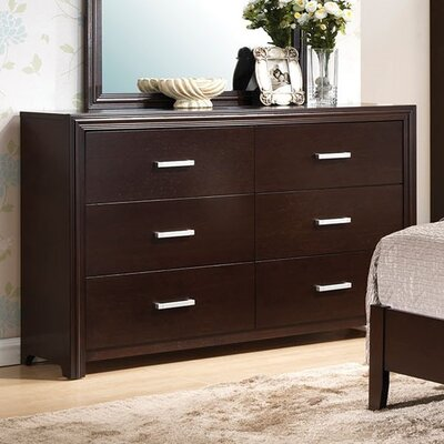 Wen 6 Drawer Included Standard Dresser
