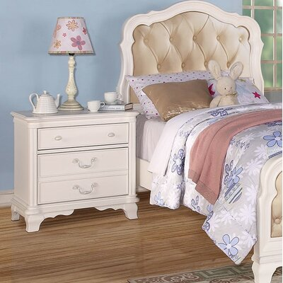 Kintore 3 Drawer Nightstand