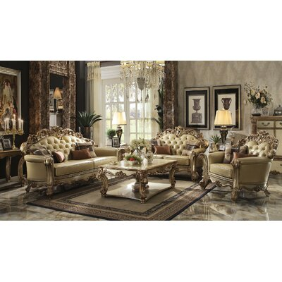 Mccarroll 3 Piece Living Room Set