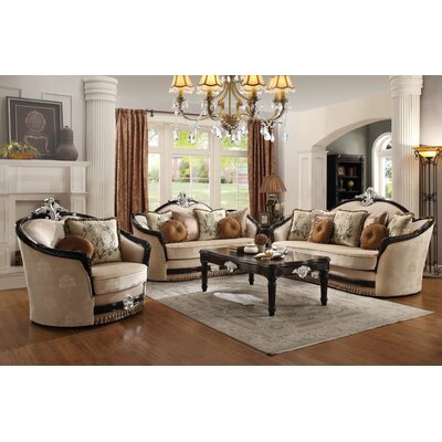 Rylance 3 Piece Living Room Set