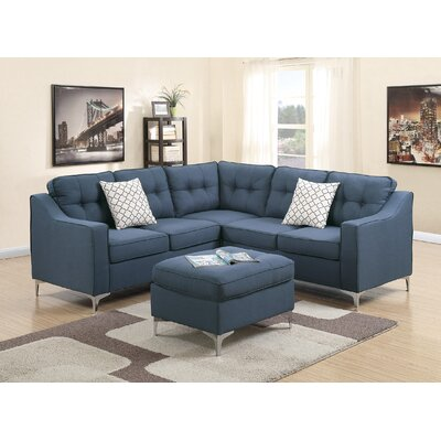Cosgrove Modular Sectional Color: Navy