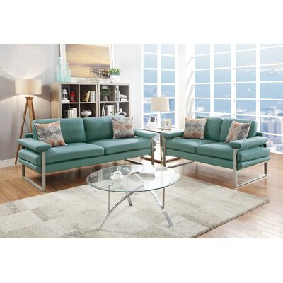 Altimari 2 Piece Living Room Set Upholstery: Laguna