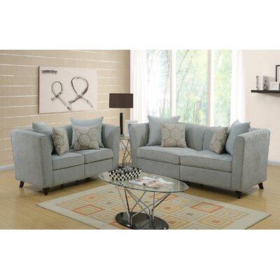 Raymo 2 Piece Living Room Set Upholstery: Taupe