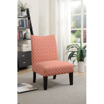Heyman Side Chair Upholstery: Orange