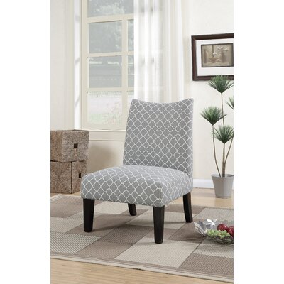 Heyman Side Chair Upholstery: Gray