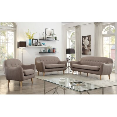 Malaya 3 Piece Living Room Set