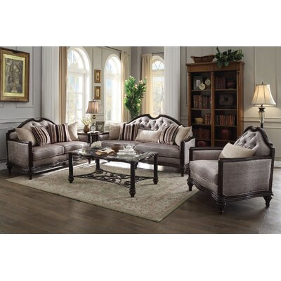 Beardmore 3 Piece Living Room Set