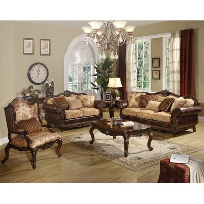 Beardsley 3 Piece Living Room Set