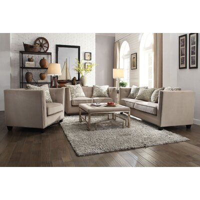 Borasisi 3 Piece Living Room Set