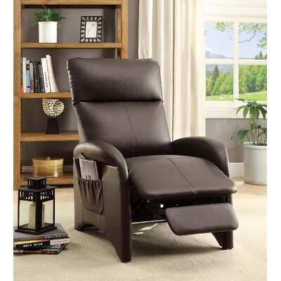 Tamas Recliner Upholstery: Espresso