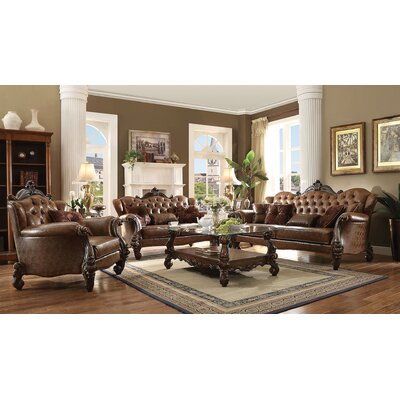 Bermuda 3 Piece Living Room Set
