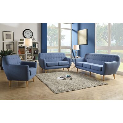 Katalina 3 Piece Living Room Set