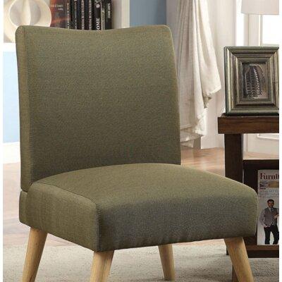 Queens Slipper Chair Upholstery: Green