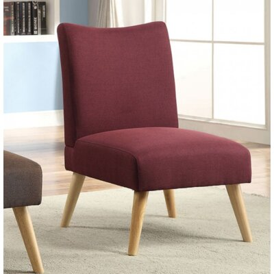 Queens Slipper Chair Upholstery: Purple