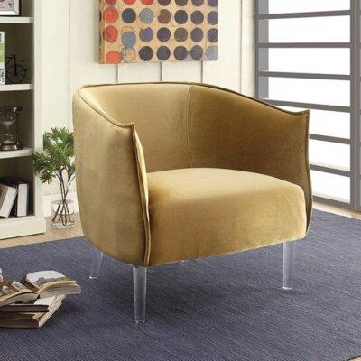 Queensbury Barrel Chair Upholstery: Yellow