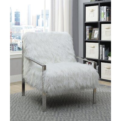 Queensway Armchair Upholstery: White