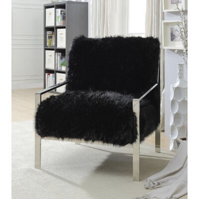 Queensway Armchair Upholstery: Black