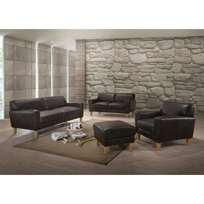 Escaler Sofa Upholstery: Espresso
