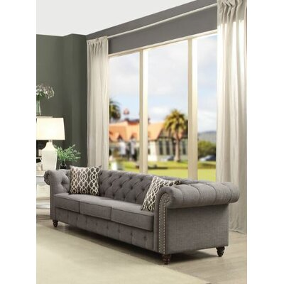Davi Sofa Upholstery: Gray