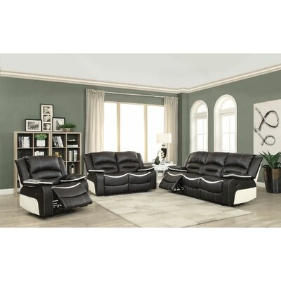 Burnie Motion 3 Piece Living Room Set