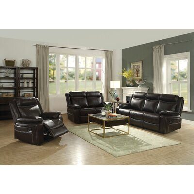 Dores Motion 3 Piece Living Room Set