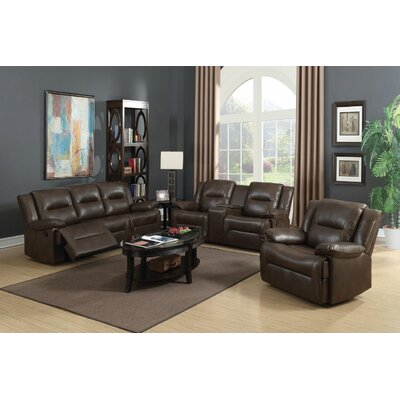 Lechez Motion 3 Piece Living Room Set
