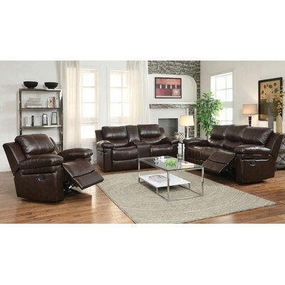 Rine Motion 3 Piece Living Room Set