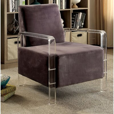 Raymer Armchair Upholstery: Gray