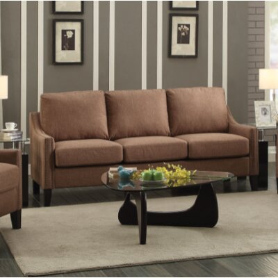 Bracken Sofa Upholstery: Brown
