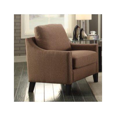 Bracken Armchair Upholstery: Brown