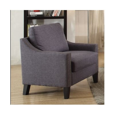 Bracken Armchair Upholstery: Gray
