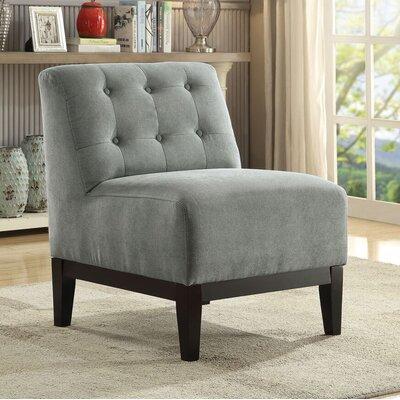 Brett Slipper Chair Upholstery: Gray