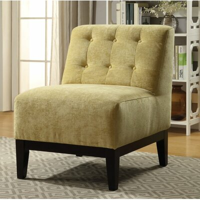 Brett Slipper Chair Upholstery: Yellow