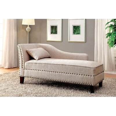 Kaat Chaise Lounge Upholstery: Beige