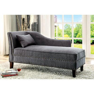 Kaat Chaise Lounge Upholstery: Gray